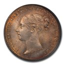 1846 Great Britain Silver Six Pence Victoria MS-65 PCGS