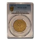 1847-O $10 Liberty Gold Eagle AU-50 PCGS