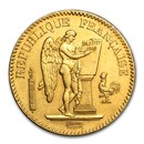 1848-1849 France Gold 20 Francs Lucky Angel (Avg Circ)