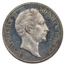1848 German States Bavaria Silver 2 Thaler MS-61 PL PCGS