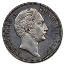 1848 German States Bavaria Silver 2 Thaler MS-63 PCGS