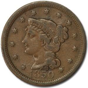 1850 Large Cent Fine