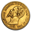 1851-1853 Sardinia Gold 20 Lire Vittorio Emanuele XF/AU