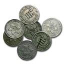 1851-1862 Three Cent Silver Fine/VF