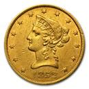 1852 $10 Liberty Gold Eagle XF