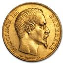 1852-1860 France Gold 20 Francs Napoleon III (BU)