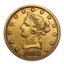 1853 $10 Liberty Gold Eagle XF