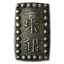 1853-1869 Japan Tokugawa Shogunate Silver Issu-Gin XF