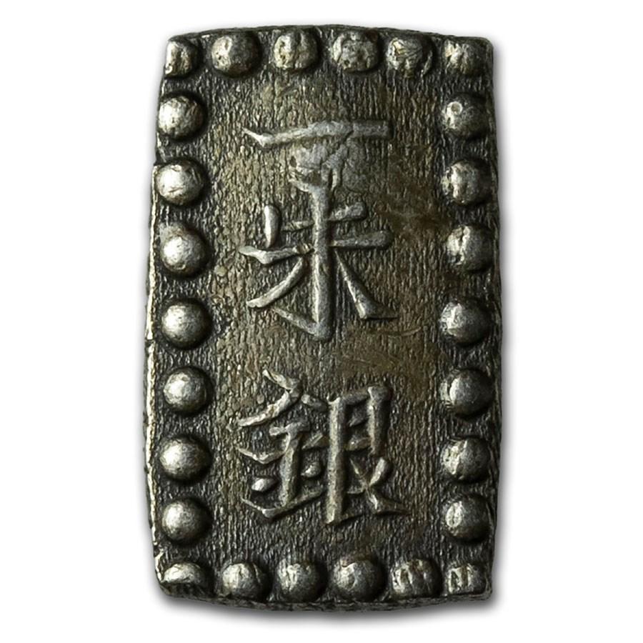 (1853-1869) Japan Tokugawa Shogunate Silver Issu-Gin XF
