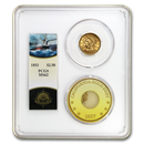 1853 $2.50 Lib Gold SS Central America MS-62 PCGS (Ship of Gold)