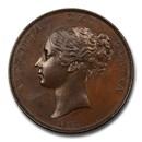 1853 Great Britain Copper Penny Victoria MS-63 PCGS (Brown)