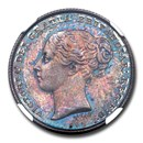 1853 Great Britain Silver Shilling Victoria PR-65 NGC