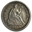 1853 Liberty Seated Half Dime w/Arrows XF
