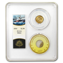 1854 $2.50 Lib Gold SS Central America MS-61 PCGS (Ship of Gold)