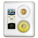 1854 $5 Lib Gold SS Central America MS-61 PCGS (Ship of Gold)