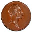1854 German Bronze Medal Maximilian II SP-65 PCGS