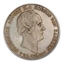 1854 German State Saxony-Albertine Silver 2 Thaler MS-65 PCGS