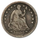 1854 Liberty Seated Half Dime Fine