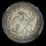 1854-O Liberty Seated Quarter AU-53 NGC