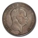 1855-A German Prussia Silver 2 Thaler, 3-1/2 Gulden MS-65 PCGS