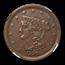1856 Half Cent AU-58 NGC (C-1 Variety)