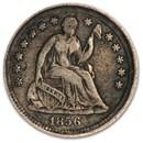 1856 Liberty Seated Half Dime VF