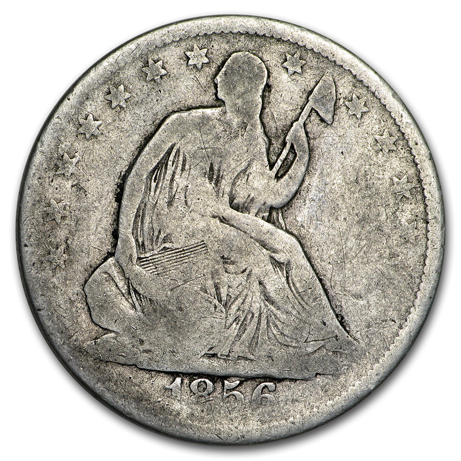 1856 Liberty Seated Half Dollar Good
