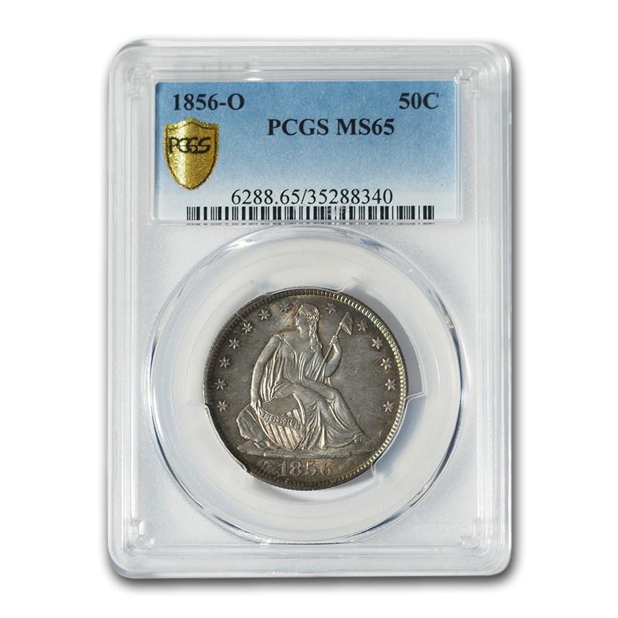 1856-O Liberty Seated Half Dollar MS-65 PCGS