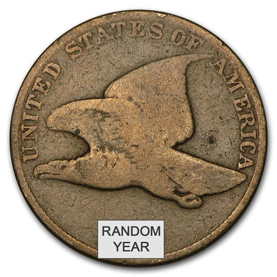 1857-1858 Flying Eagle Cents Avg Circ