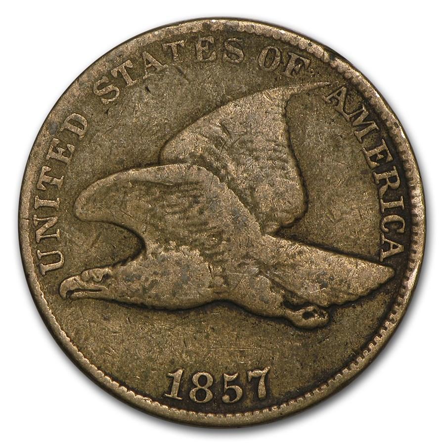 1857 Flying Eagle Cent Fine