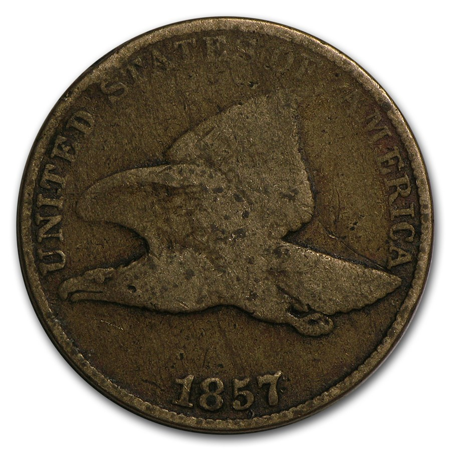 1857 Flying Eagle Cent Good