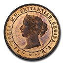 1857 Great Britain AE Pattern Five Cents PR-65 PCGS (Red/Brown)