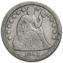 1857 Liberty Seated Dime Fine