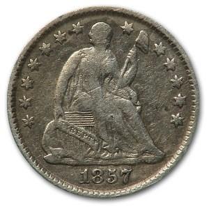 1857 Liberty Seated Half Dime Fine