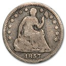 1857 Liberty Seated Half Dime Good