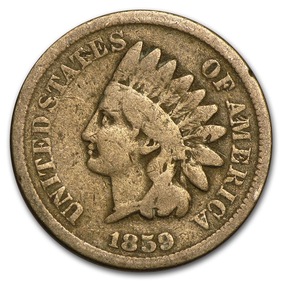 1859 Indian Head Cent Good