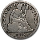 1859-S Liberty Seated Dollar VG