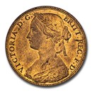 1860 Great Britain Bronze Penny Victoria MS-64 NGC (Red/Brown)