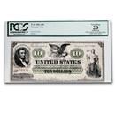 1861 $10.00 Demand Note - Abraham Lincoln VF-20 PCGS