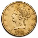 1861 $10 Liberty Gold Eagle XF