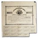 1861 $100 CSA Bond 8%/ 10 yr Judah Benjamin/Tyler (CR-31) VF