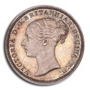 1862 Great Britain AR Fourpence Victoria PR-65 PCGS (3 Pence Obv)