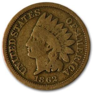 1862 Indian Head Cent Good