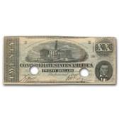 1863 $20 (T-58) Capitol @ Nashville, TN VF (Cancelled)