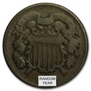 1864-1872 Two Cent Piece Avg Circ