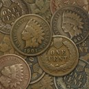 1864-1909 Indian Head Cents Average Circulated