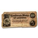 1864 CSA $500 (T-64) Washington-Jackson Cull