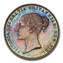 1864 Great Britain Silver Sixpence Victoria MS-65 PCGS