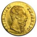 1865-B Mexico Mini Gold Maximiliano Replica (11 mm)