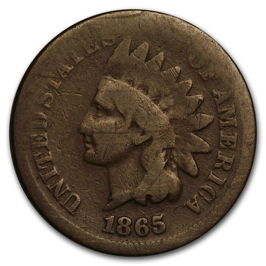 1865 Indian Head Cent Good